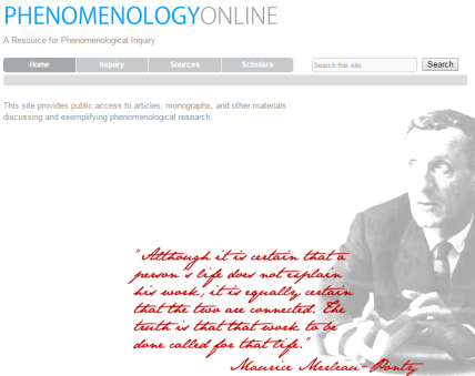 phenomenologyonline